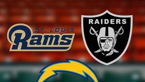 NFL in L.A. -- Raiders, Rams & Chargers ... Oh My!