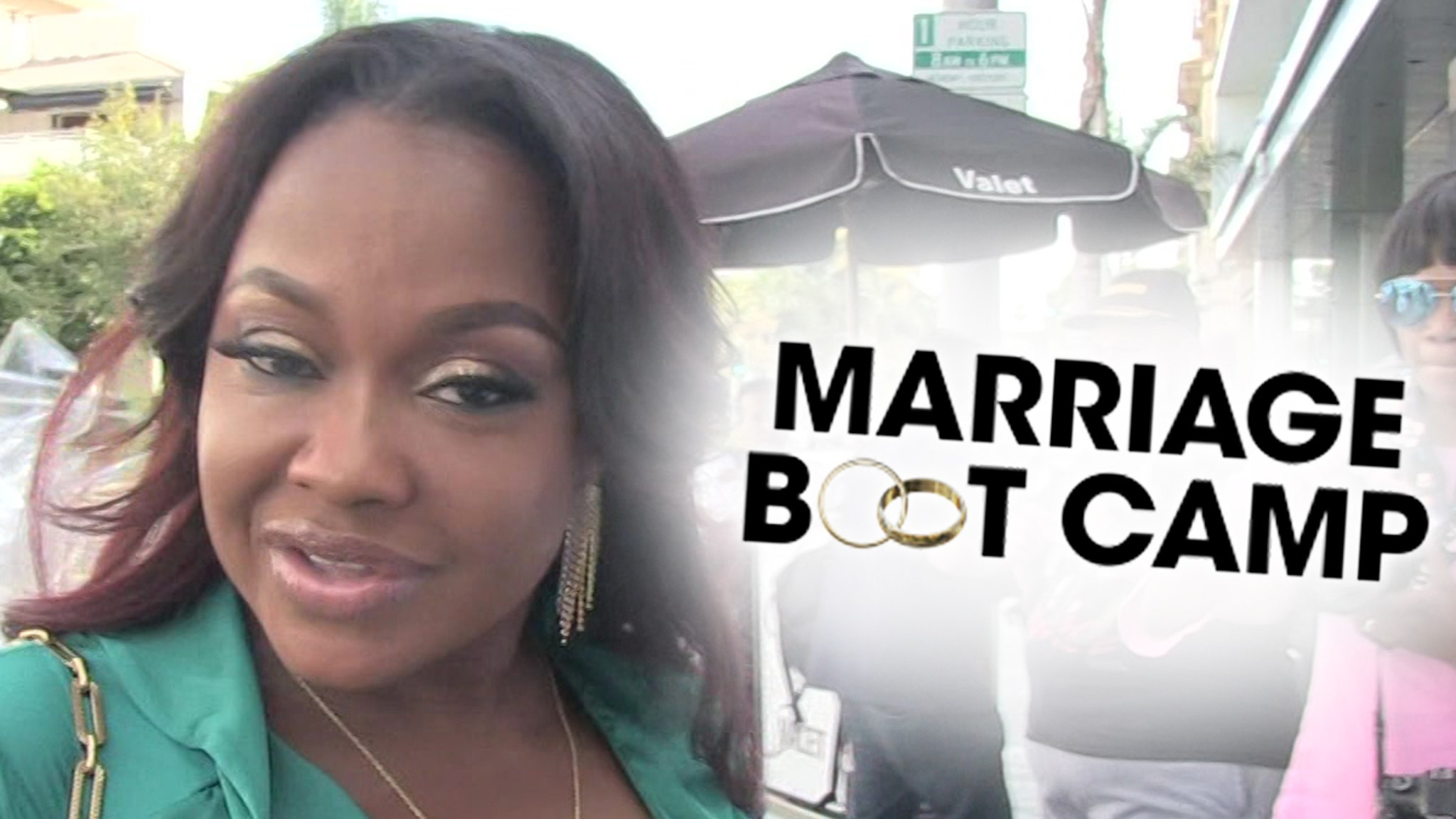 Phaedra Parks Ready For 'Marriage Boot Camp'