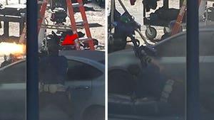 Chris Pratt's Taking Fire in Shootout Scene in 'Tomorrow War'