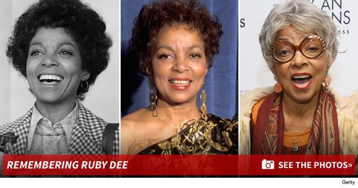Remembering Ruby Dee