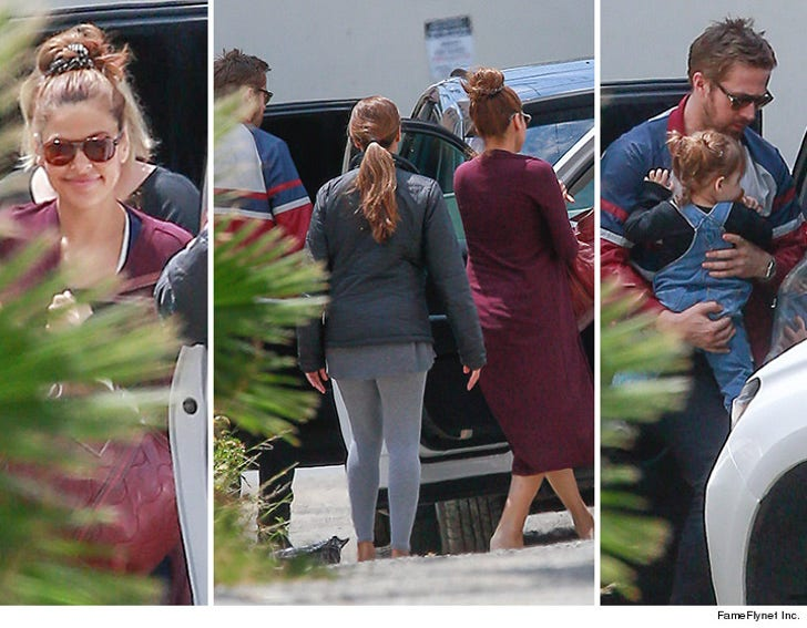 Ryan Gosling and Eva Mendez Do Lunch with First Kid, New ...