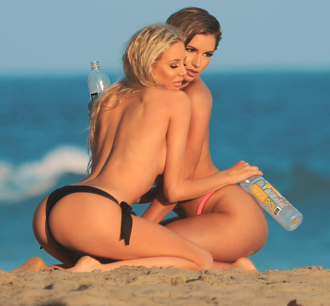 Amy Lee Naked daisy lea and amy lee's topless beach shots