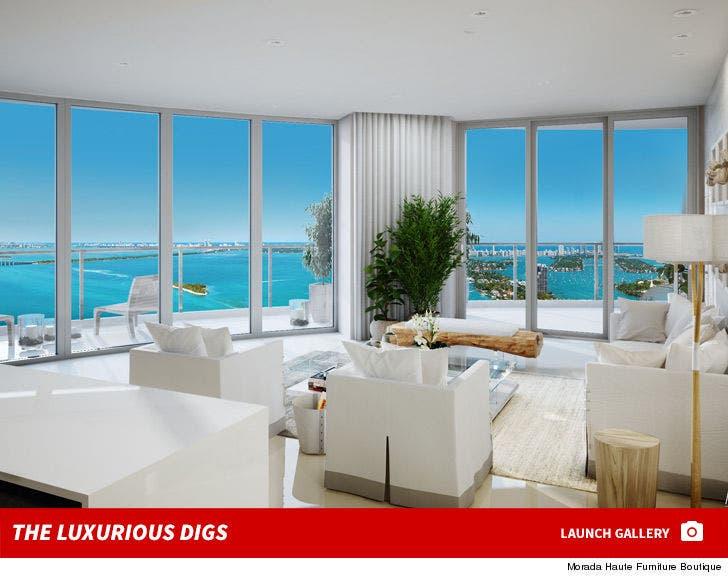 Timbaland's Miami Condo -- The Luxurious Digs