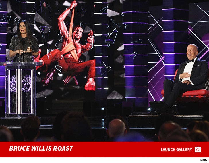 Bruce Willis Roast with Demi Moore Gallery
