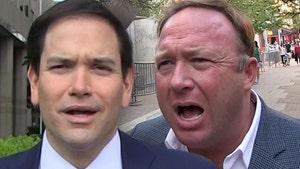 Sen. Marco Rubio Squares Off with 'InfoWars' Host Alex Jones