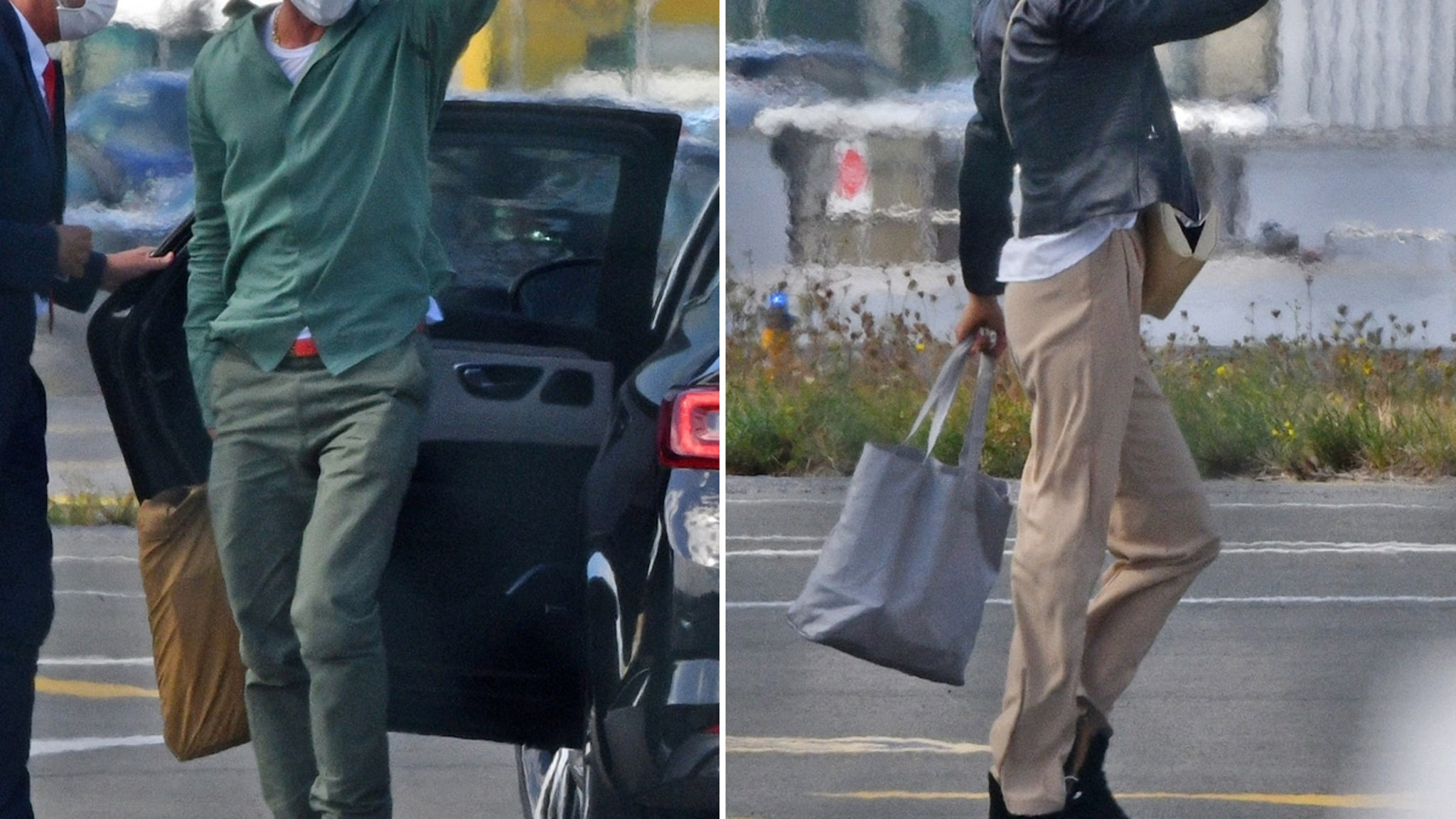 Brad Pitt Jets Off To South Of France With Model Partner Nicole Poturalski
