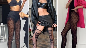Stars In Sexy Stockings -- Guess Who!