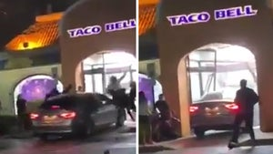 Taco Bell Hit-and-Run Driver Wanted for Plowing Through People