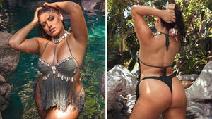 Ella Halikas Shells Out Sexy Bikini in Hidden L.A. Oasis!