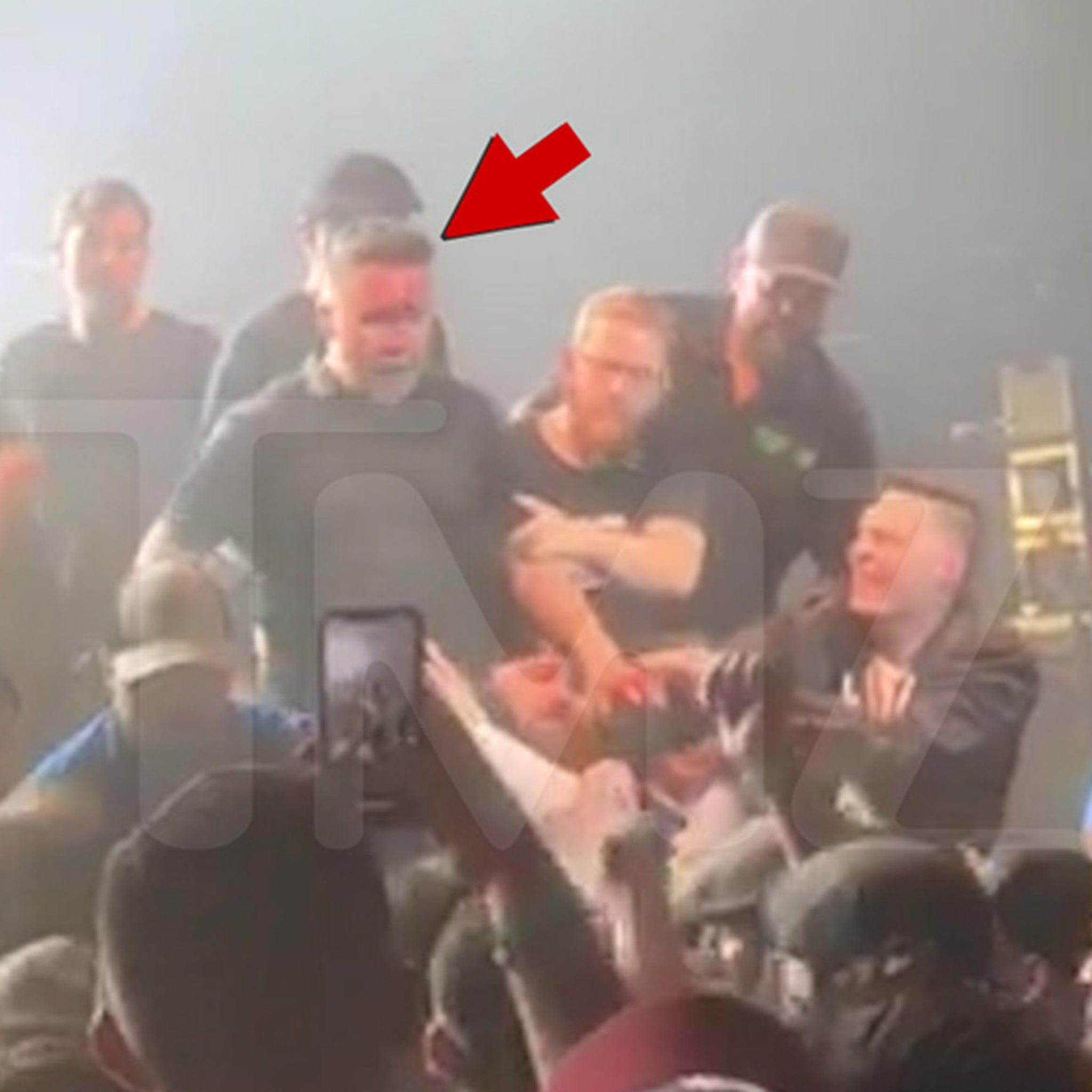 Dropkick Murphys' Ken Casey Bloodied in Fight with Concert Fan