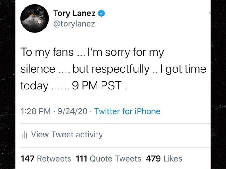 Tory Lanez Denies Megan Thee Stallion's Shooting Claims on New Album 4