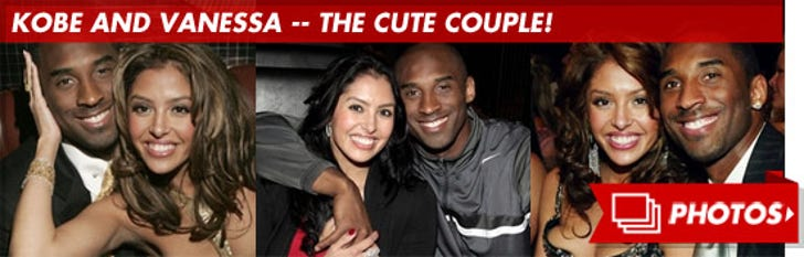 Kobe and Vanessa -- The Cute Couple