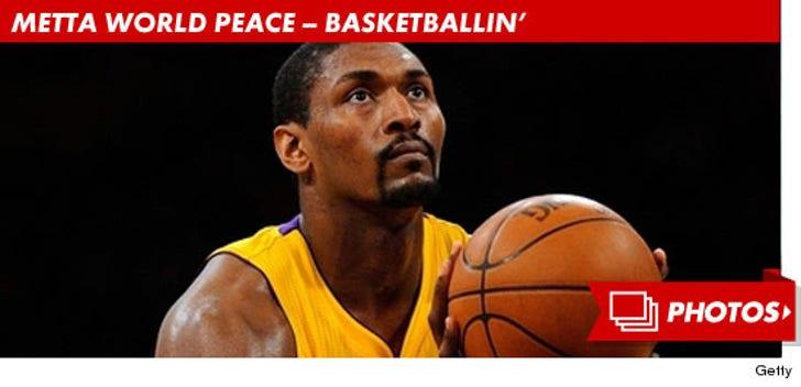 Metta World Peace -- Ballin'!