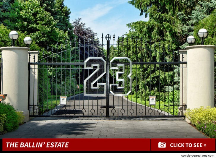 Michael Jordan's Ballin' Chicago Mansion