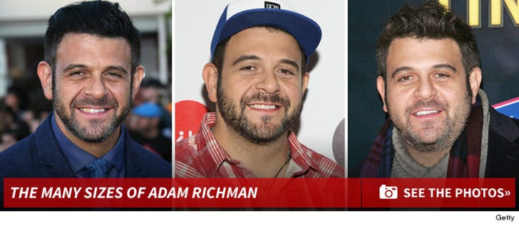 The Many Sizes of Adam Richman