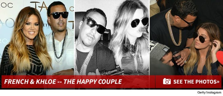 Khloe Kardashian and French Montana Together