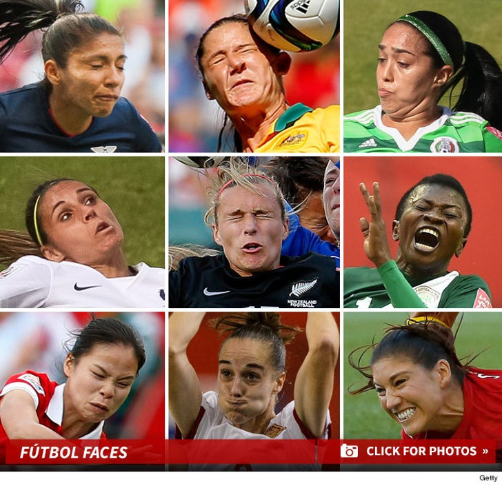 Funny Faces from FIFA Women's World Cup 2015