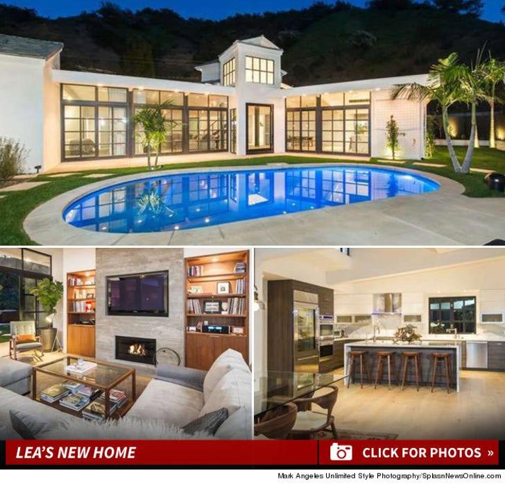 Lea Michele's New Mansion