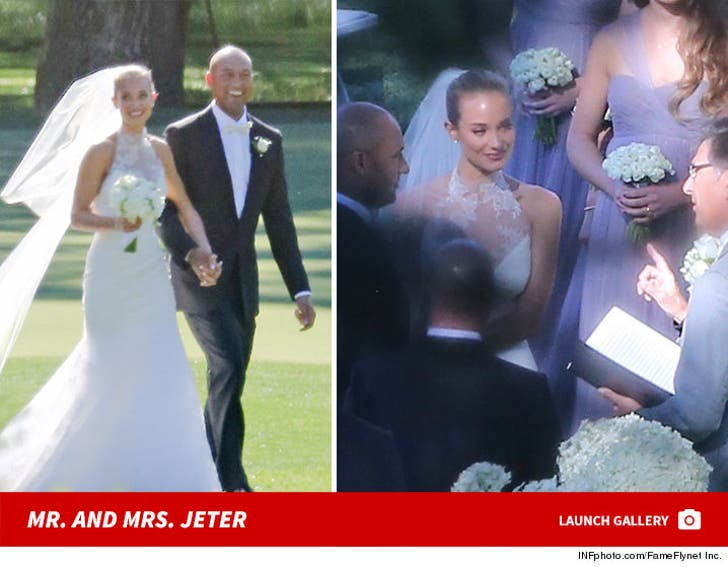 Mr. and Mrs. Jeter - The Wedding Photos