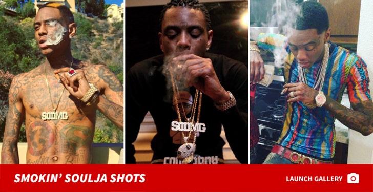 Soulja Boy's Smokin' Shots