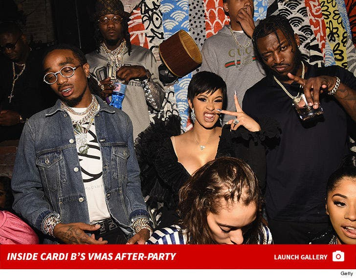 Inside Cardi B's VMAs After-Party