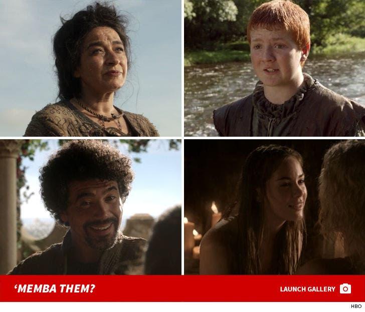 'Game Of Thrones' Cast -- 'Memba Them?