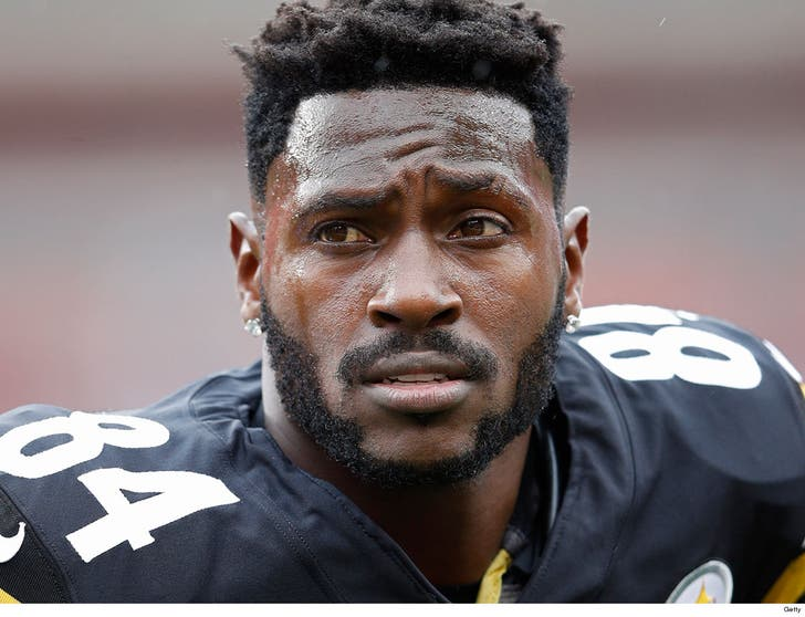 Antonio Brown Hair >> Antonio Brown S 84 Steelers Number Given To Undrafted Tight End