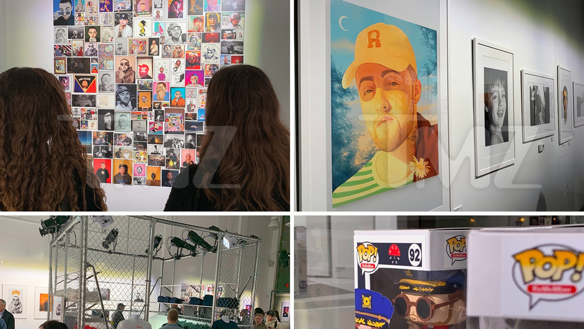 Mac Miller Fans Soak Up Pop-Up Exhibition Celebrating Rapper