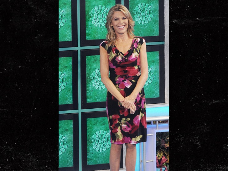Vanna White Will Host 'Wheel Of Fortune' While Pat Sajak Recovers