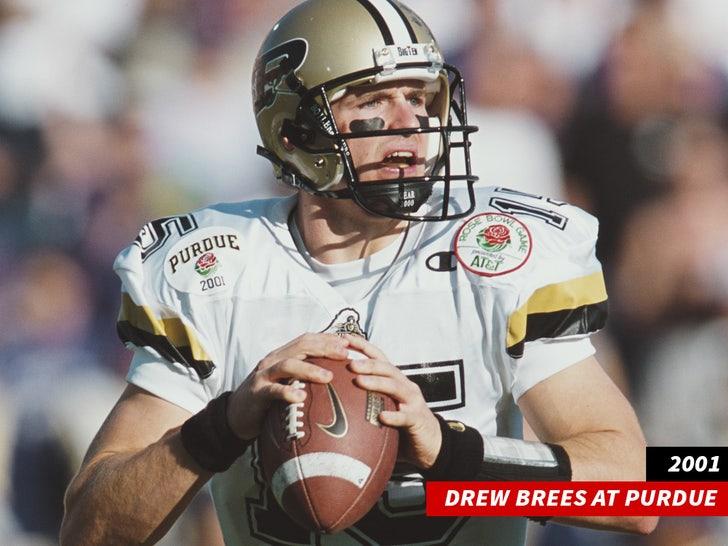 Drew Brees At Purdue