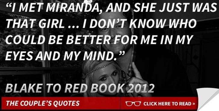 Blake and Miranda -- The Couple's Quotes