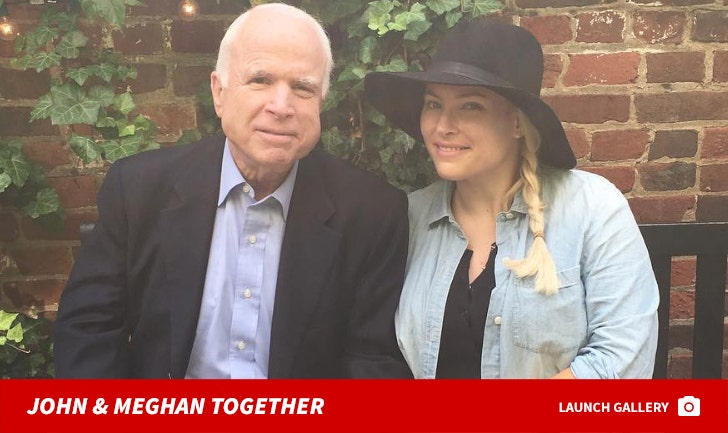 John and Meghan McCain Together -- The Father/Daughter Pics