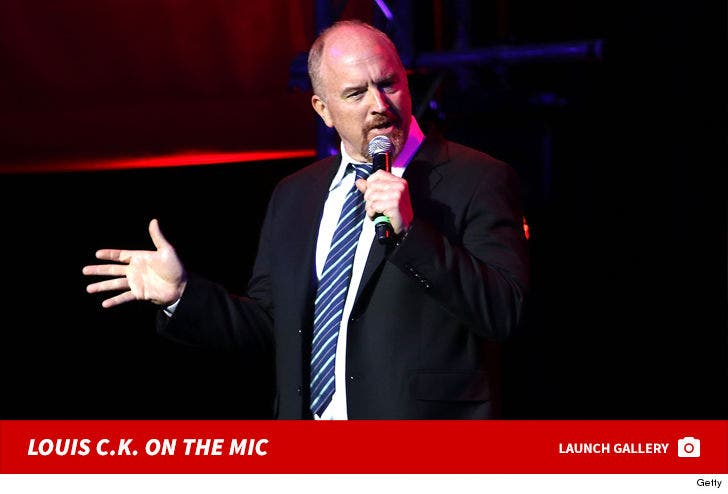 Louis C.K. On The Mic
