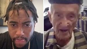 DeSean Jackson Meets with 94-Year-Old Holocaust Survivor