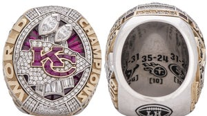 K.C. Chiefs Mike Weber's Super Bowl 54 Ring Sells For Over $70k At Auction!!