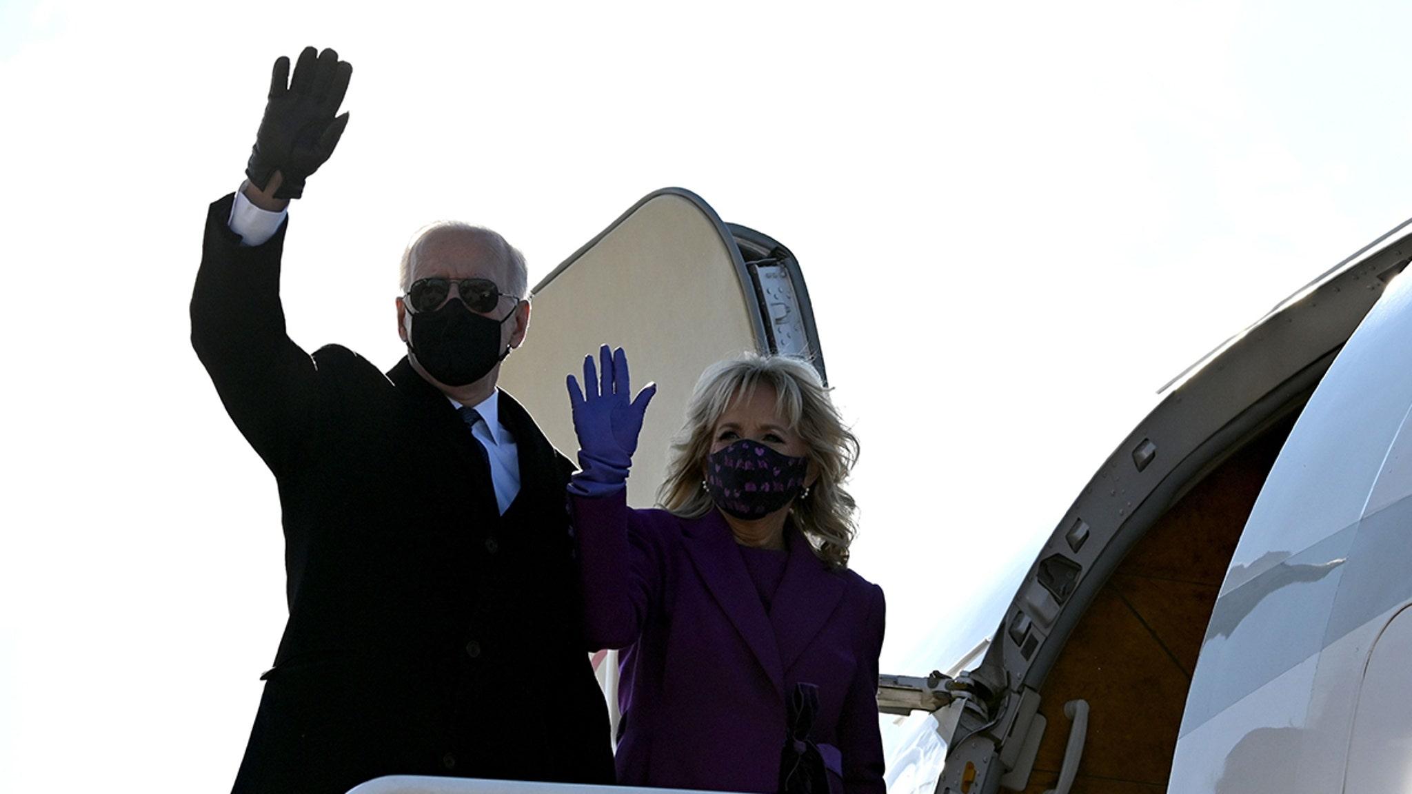 Джо Байден не получит правительственный самолет, чтобы доставить его на инаугурацию Вашингтона
