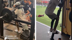 Odell Beckham Goes HAM In Weight Room Just 2.5 Months After ACL Surgery