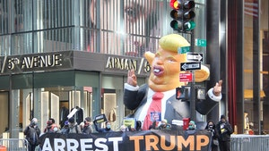 Donald Trump Draws Protestors in First NYC Trip Since Leaving White House