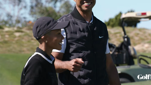 Tiger Woods Was Laughing & In Good Spirits Day Before L.A. Crash, New Video Shows