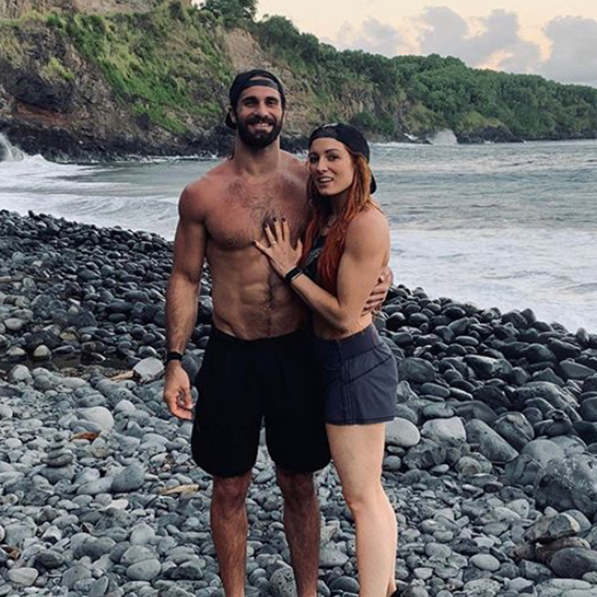 WWE's Seth Rollins and Becky Lynch Get Engaged