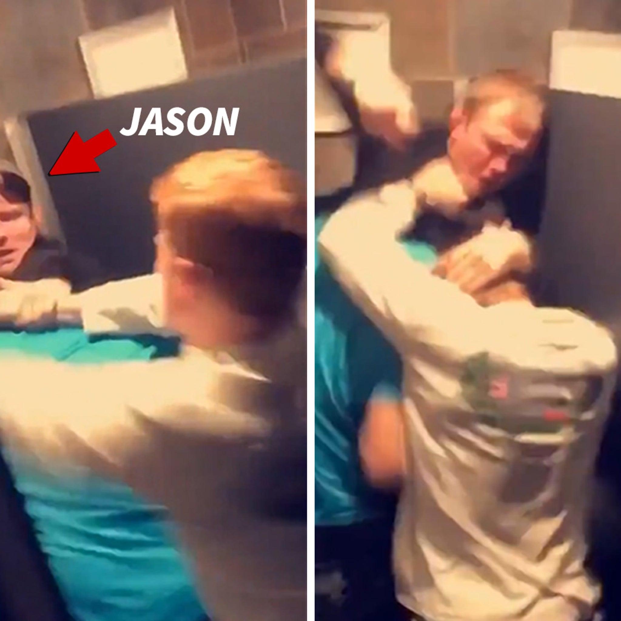 MMA's Jason Knight Explains Insane Bathroom Fight Video, Here's What Happened