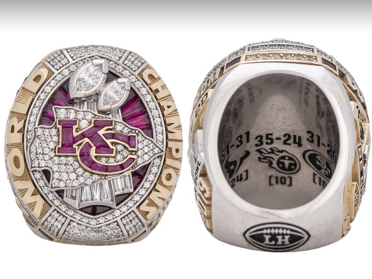 Mike Weber Auctioning Off Chiefs Super Bowl Ring