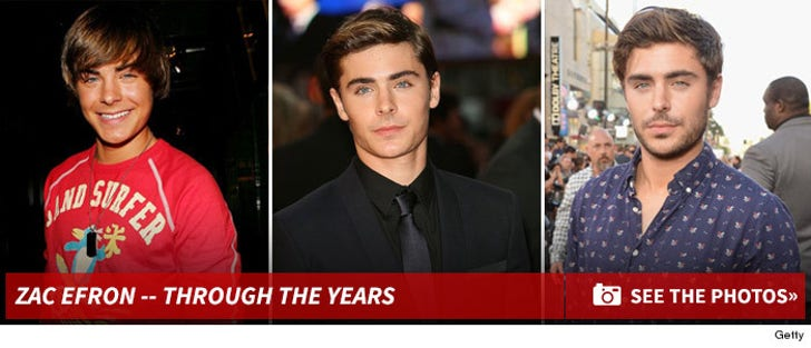 Zac Efron -- Through the Years