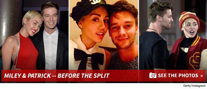 Miley Cyrus & Patrick Schwarzenegger -- Before the Split