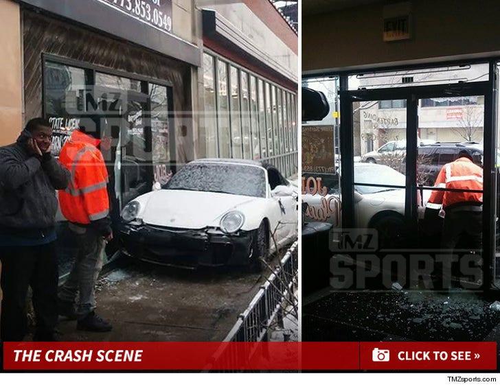 Lance Briggs Crash Scene