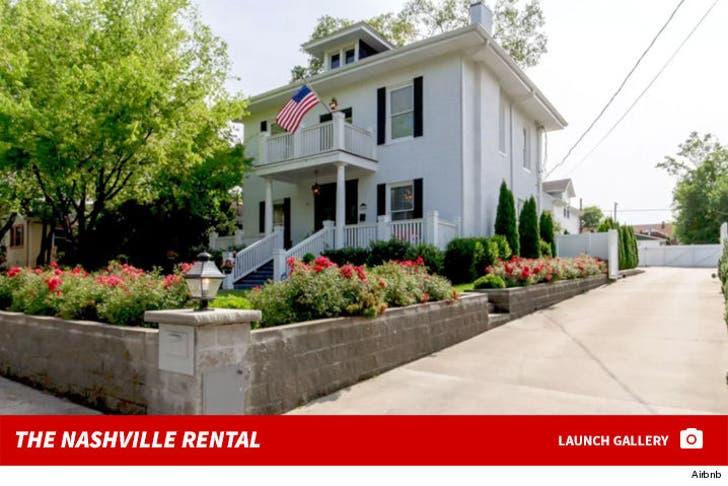 John Legend's Nashville Airbnb Rental
