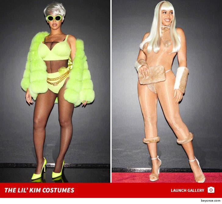 Beyonce's Epic Lil' Kim Costumes