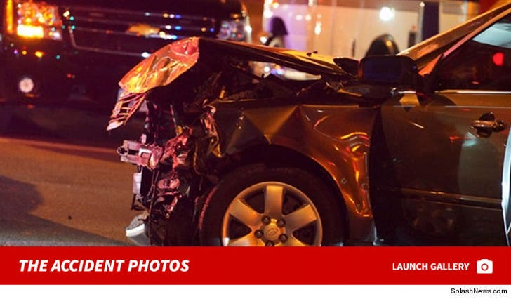 Post Malone Car Crash Accident Photos