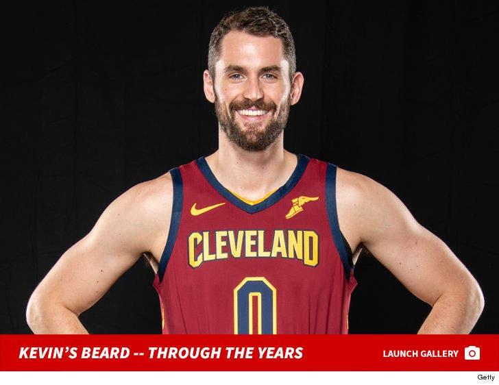 Kevin Love's Beard -- Through The Years