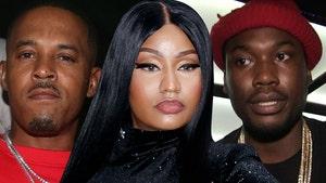 Nicki Minaj, Hubby Stared Down by Meek Mill Before Shouting Match